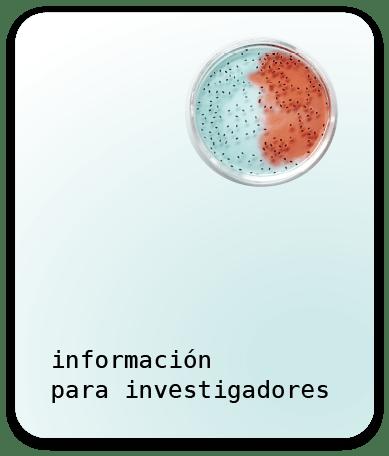 Información para investigadores